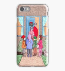 The Christmas Carol Singers iPhone Case/Skin