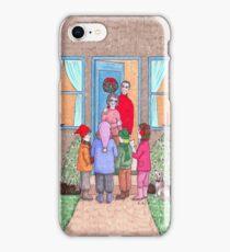 The Christmas Carol Singers iPhone Case/Skin