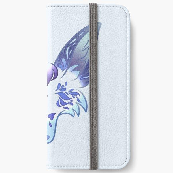 Pastel Flower Wolf (Lupora) iPhone Wallet