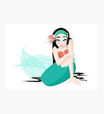 Spunky Mermaid Photographic Print