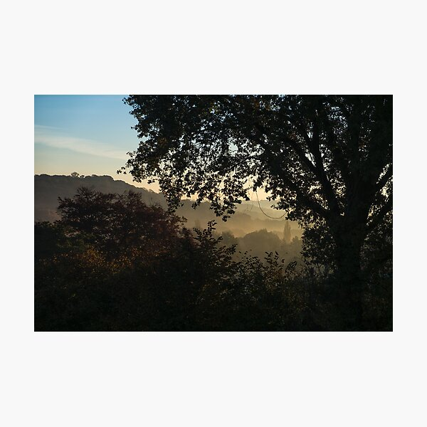 Foggy view Photographic Print