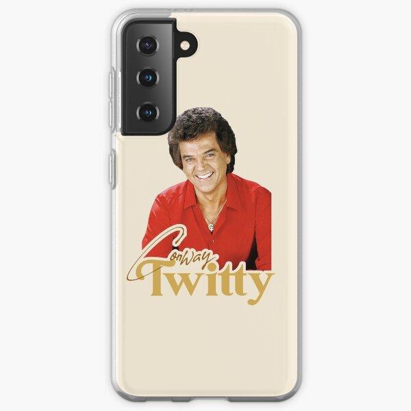 Conway Twitty ))(( Retro Country Legend Design Samsung Galaxy Soft Case