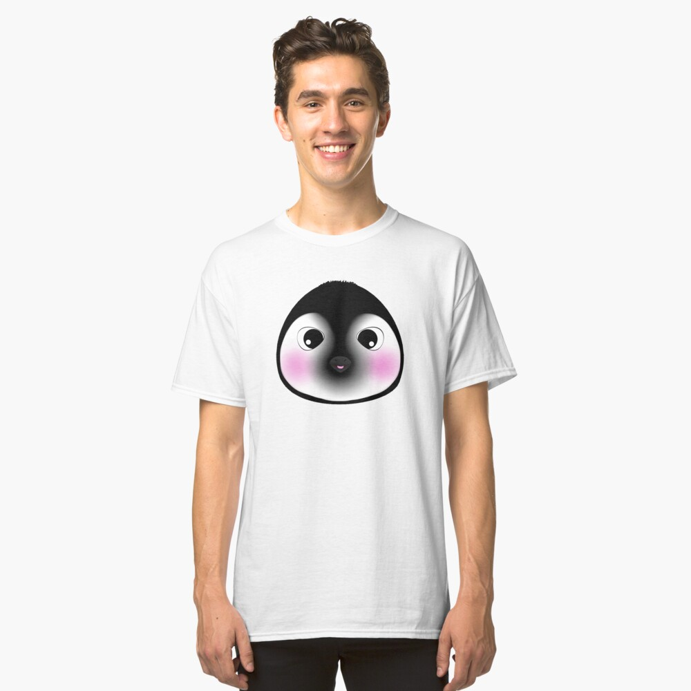 Silly Little Penguin! Classic T-Shirt Front