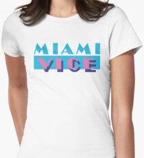 Miami Vice Women's Fitted T-Shirt