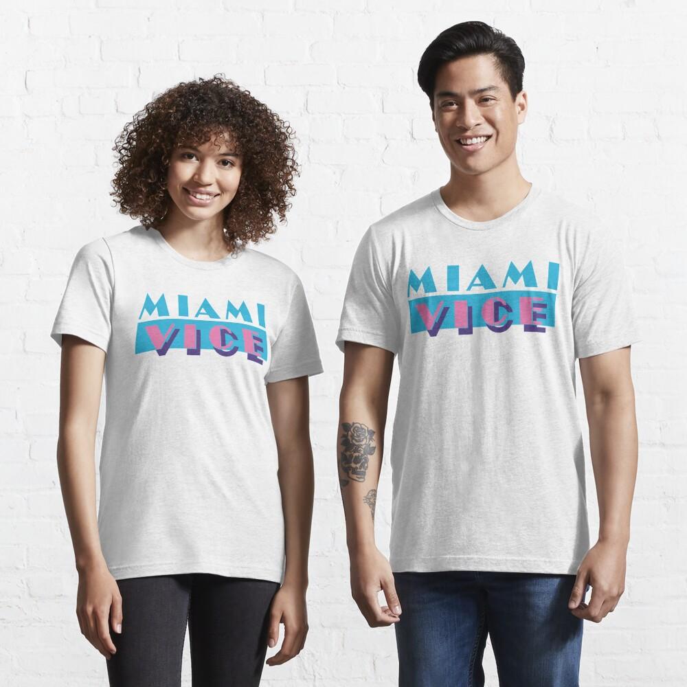 T-shirt essentiel «Miami Vice»