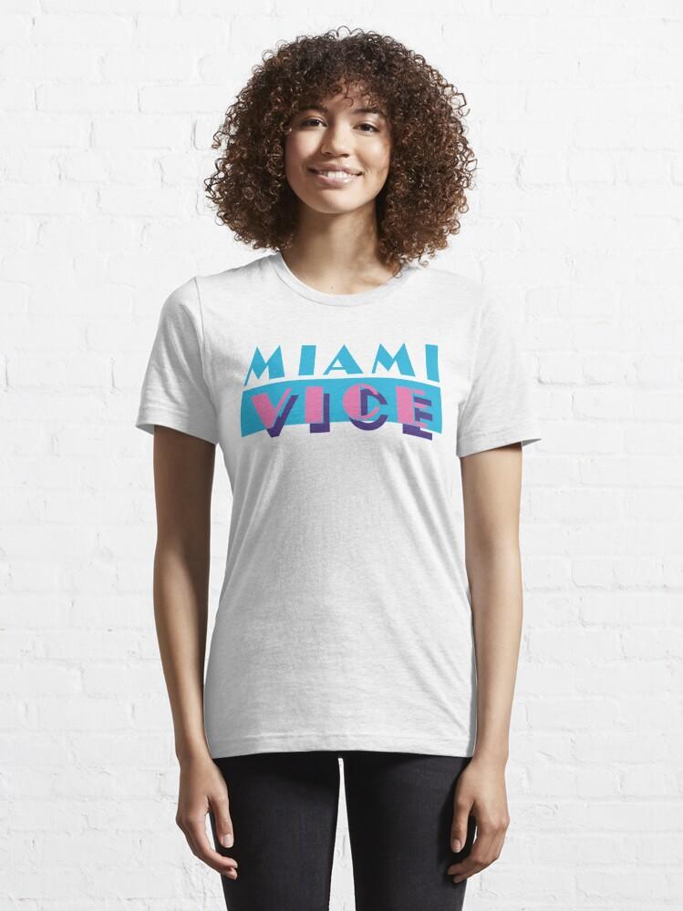 T-shirt essentiel ''Miami Vice': autre vue
