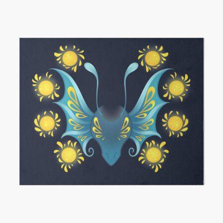 Fairy Lights Dragon (Nephini) Art Board Print