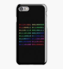 Binary... i can't read it! iPhone Case/Skin
