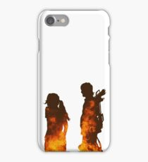 Beth & Daryl Fire iPhone Case/Skin
