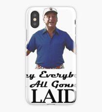 "Caddyshack - Rodney Dangerfield Al Czervik ""Laid"" iPhone Case/Skin"