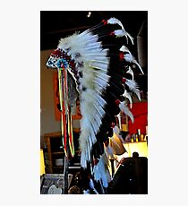 INDIANER CHEF HEADDRESS Fotodruck