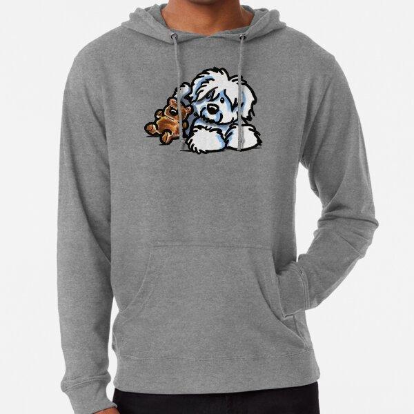 Coton Teddy Bear Lightweight Hoodie