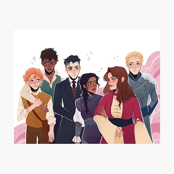 Six of Crows Photographic Print