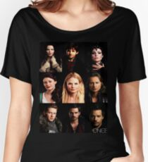 OUAT Posters Tee Women's Relaxed Fit T-Shirt