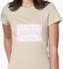 Pixel Ouija Board Womens Fitted T-Shirt