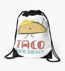 TACO TUESDAY Drawstring Bag