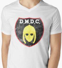 DMDC Detectorists Logo - Distressed Men's V-Neck T-Shirt