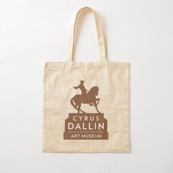 Cyrus Dallin Art Museum Logo Cotton Tote Bag