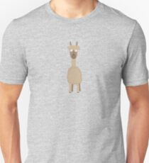 Brown Alpaca   Unisex T-Shirt