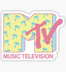 Summer MTV Sticker