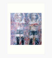 sexi women 1  Art Print