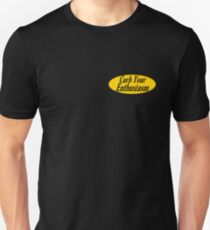 Curb Your Enthusiasm - Mustard Slim Fit T-Shirt