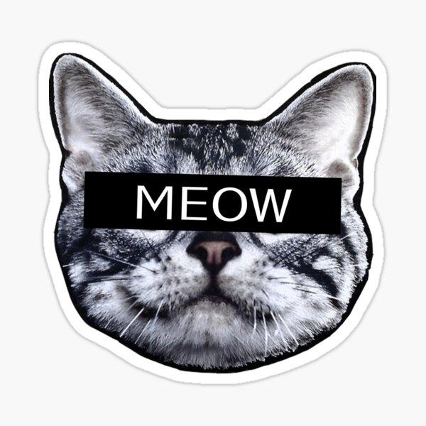Censor Cat Pegatina