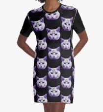 Kultkatze T-Shirt Kleid