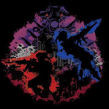 Mad Dog & Scorpion by beanzomatic