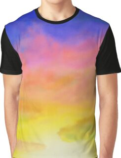 airbrush sunset Graphic T-Shirt