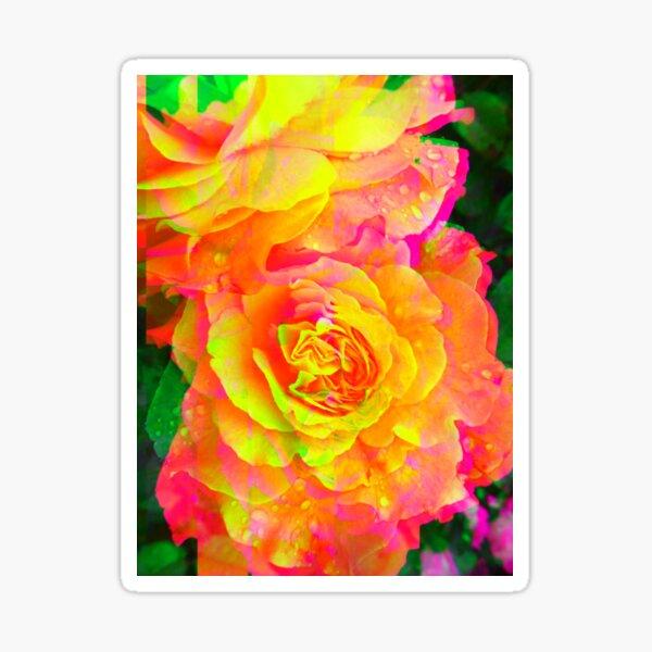 Bold Blooms Sticker