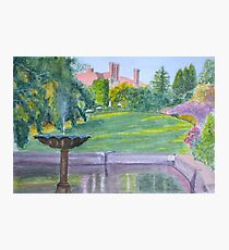 Autumn, Pashley Manor by John Rees Photographic Print