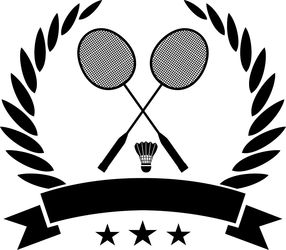 Quot Vintage Style Badminton Logo Quot By Abigailfullerto Redbubble