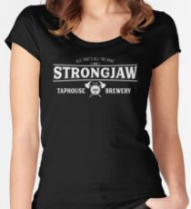 Grog Strongjaw Women's Fitted Scoop T-Shirt