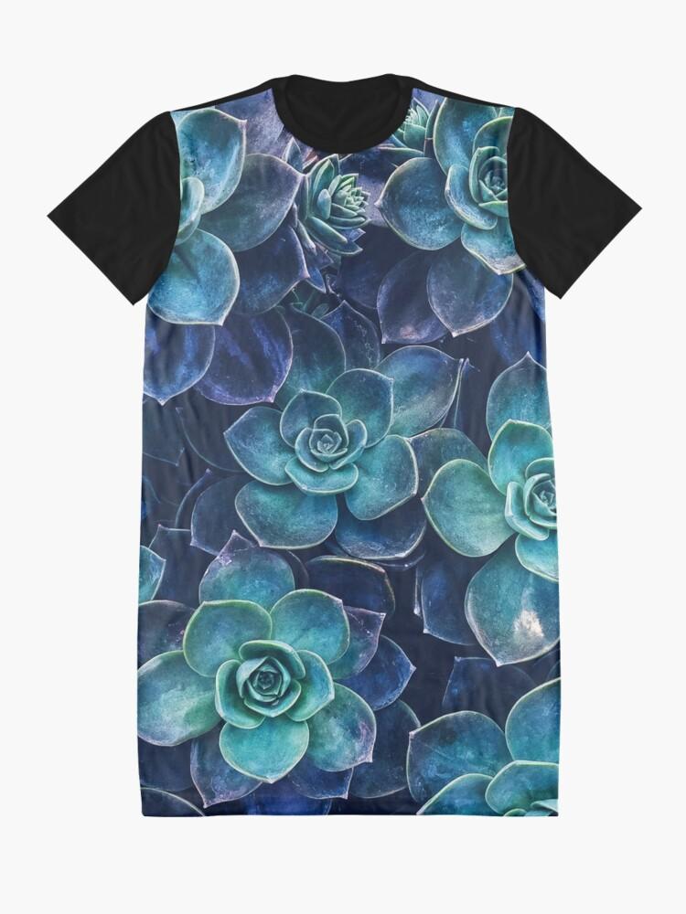 Alternative Ansicht von Sukkulenten T-Shirt Kleid