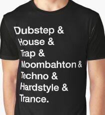 Genres Grafik T-Shirt