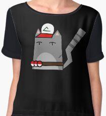 Ash (pokemon) Cat Women's Chiffon Top