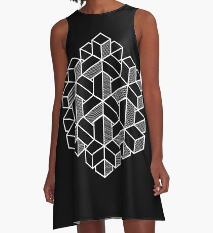 Impossible Shapes: Hexagon A-Line Dress