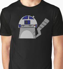 R2D2 Cat Graphic T-Shirt
