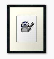 R2D2 Cat Framed Print