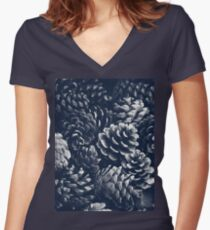 Pining for you -  Women's Fitted V-Neck T-Shirt