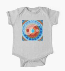 Ideal Balance Yin and Yang by Sharon Cummings One Piece - Short Sleeve