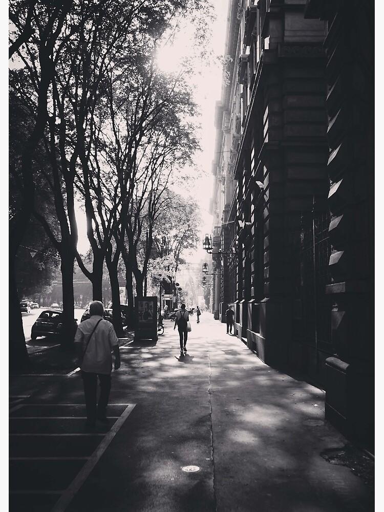 Milano Street Scene 2018 by douglasewelch