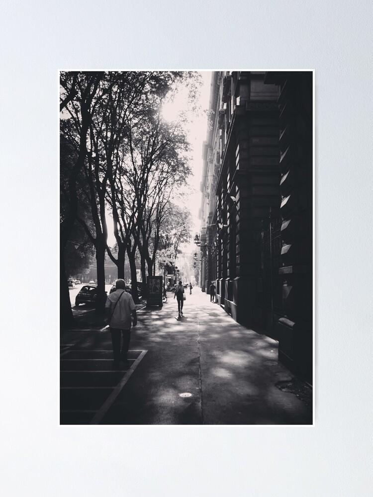 Alternate view of Milano Street Scene 2018 Poster