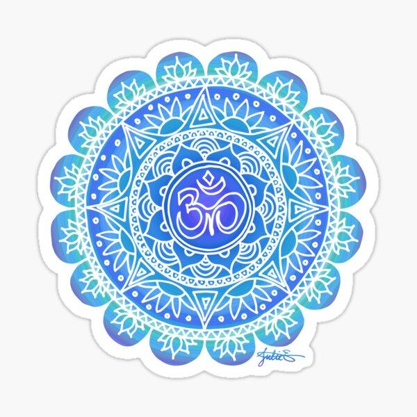 Blue Ohm Mandala Sticker