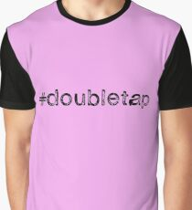 Double Tap Graphic T-Shirt