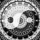 Ideal Balance Black And White Yin and Yang by Sharon Cummings by Sharon Cummings