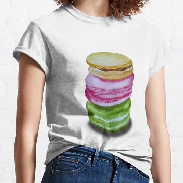 Macaron Stack of Love Classic T-Shirt