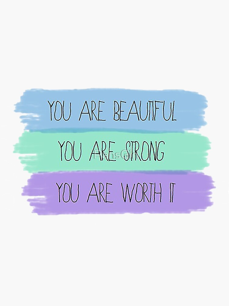 You are beautiful by PansGirl