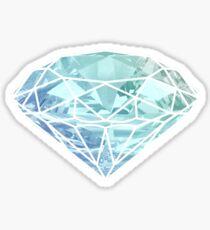 blue diamon Sticker